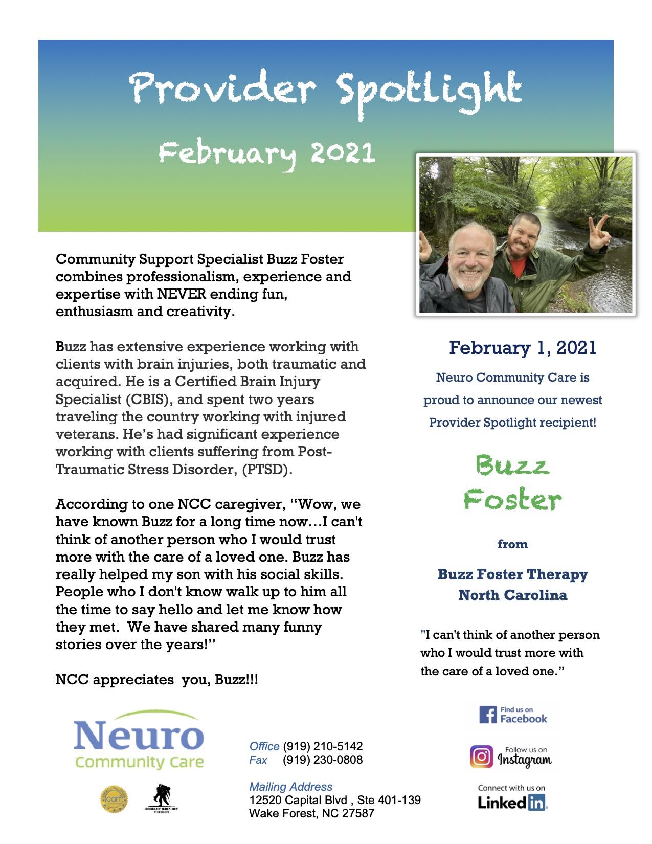 Provider Spotlight February2021